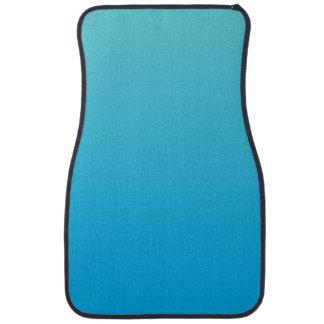 """""""Aqua Blue Ombre"""" Car Floor Mat"""