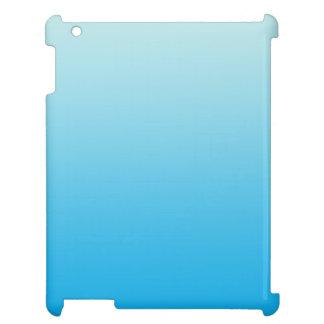 Aqua Blue Ombre Case For The iPad 2 3 4