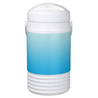 Aqua Blue Ombre Cooler