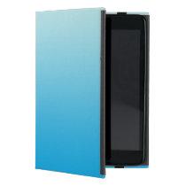 Aqua Blue Ombre iPad Mini Case