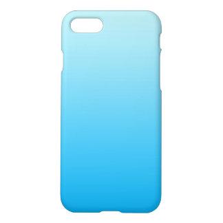 Aqua Blue Ombre iPhone 7 Case