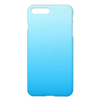 Aqua Blue Ombre iPhone 7 Plus Case
