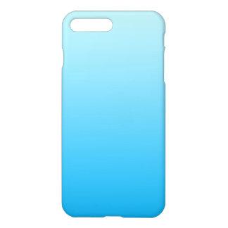 Aqua Blue Ombre iPhone 8 Plus/7 Plus Case