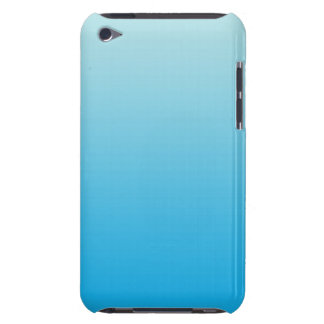 Aqua Blue Ombre iPod Touch Cover