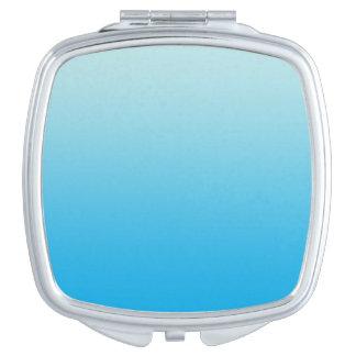Aqua Blue Ombre Vanity Mirror