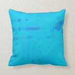 Aqua Blue Pillow