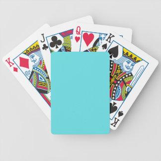 Aqua Blue Card Deck