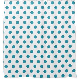 Elegant Polka Dots Shower Curtains | Zazzle