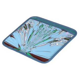 Aqua Blue Reflection Sararis rickshaw bagworks Sleeve For iPads