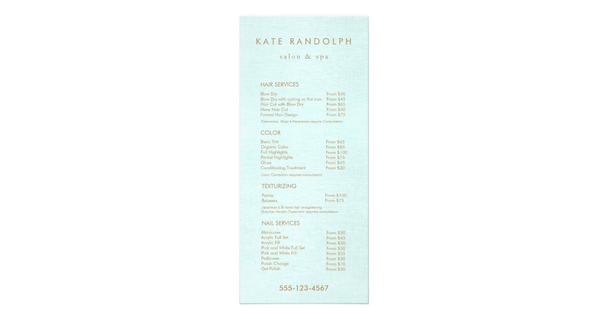 Canyon Ranch Spa Price List - Celebrity Cruises - Cruise ...