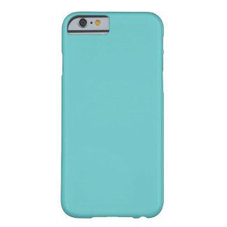 Aqua Blue Solid Background Color 66CCCC iPhone 6 Case
