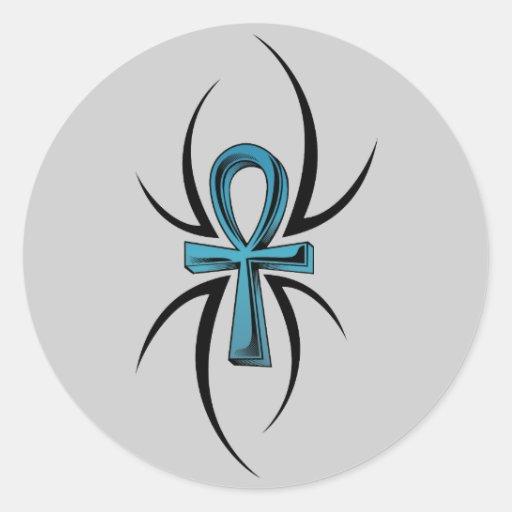 28 Nice Aqua Color Tattoos: Aqua Blue Tattoo Symbol Stickers