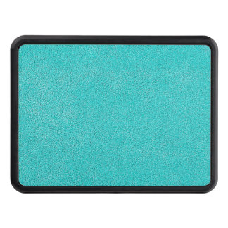 Aqua Blue Ultrasuede Look Tow Hitch Cover