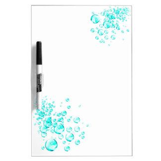 aqua bubbles Dry-Erase board