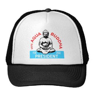 Aqua Buddha Cap Trucker Hat