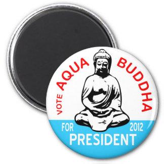 Aqua Buddha Magnet