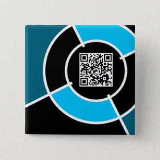 aqua bullseye QR code Button