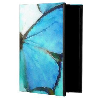 Aqua Butterflies iPad Air Cases