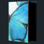 "Aqua Butterflies iPad Air Cover<br><div class=""desc"">I&#39;ve created a watercolor print of a gorgeously colored aqua, turquoise, and blue butterflies. There is also a hint of moss green on the tips. I could get lost in the colors, as they remind me of the Caribbean ocean. This is a perfect piece of art for someone who loves...</div>"