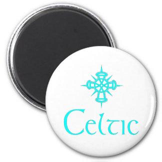 Aqua Celtic with Cross Magnet