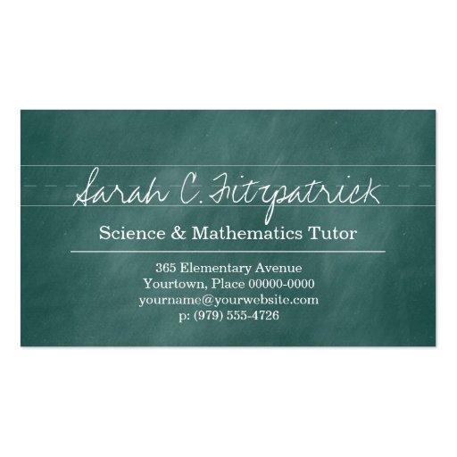 Teacher Business Cards 5300 Teacher Business Card Templates