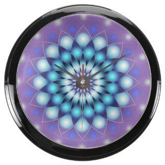 Aqua Clock Mandala