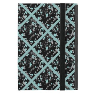 Aqua Confetti iPad Mini Covers