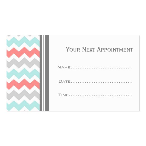 Appointment Business Card Template Dzeo