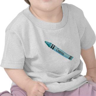 Aqua Crayon Tshirt