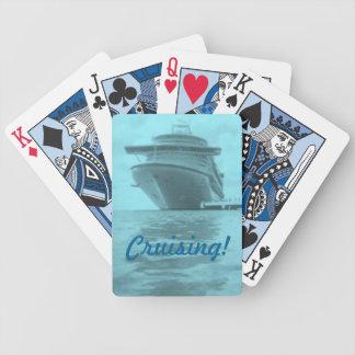 Aqua Cruising Playing Cards