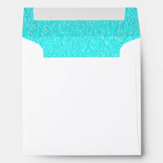 Aqua Design Envelope