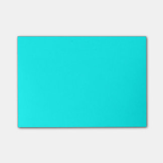 Aqua Designer One Color Post-it® Notes