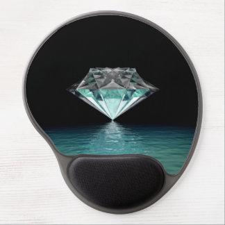 Aqua Diamond Gel Mouse Pad