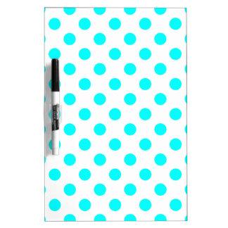 AQUA-DOTS! (a polka dot design) ~ Dry Erase Board