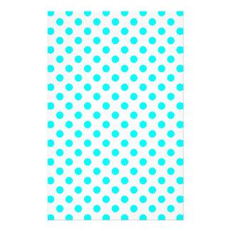 AQUA-DOTS! (a polka dot design) ~ Stationery