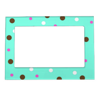aqua dots magnetic picture frame