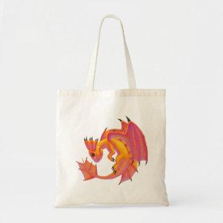 Aqua Dragon Tote Bag