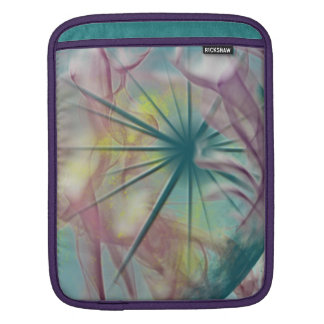 Aqua dream iPad sleeve