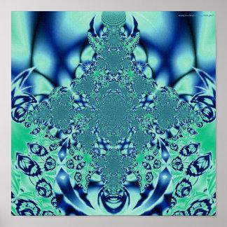 """""""Aqua Dream"""" Poster"""