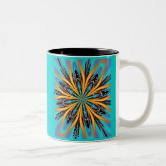 Aqua Duo Two-Tone Coffee Mug