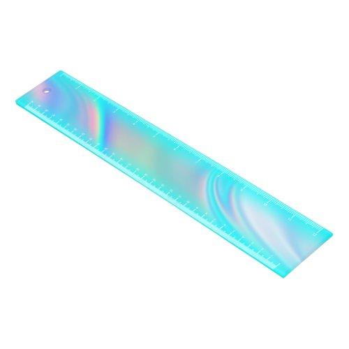 Aqua Edge Rainbow Ombre Ruler