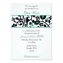 aqua Elegant Corporate party Invitation