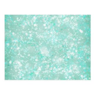 Aqua Fairy Dust Postcard