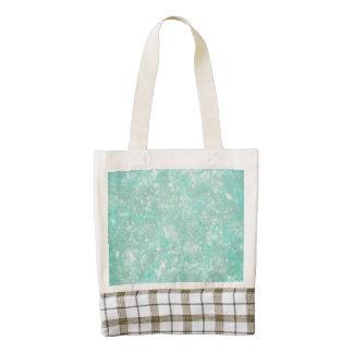 Aqua Fairy Dust Zazzle HEART Tote Bag