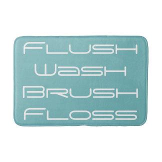 Aqua Flush and Wash Bath Mat