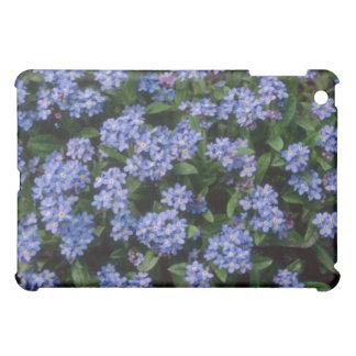 Aqua Forget-Me-Not, (Myosotis Alpestris) flowers Cover For The iPad Mini