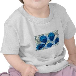 Aqua Forget-me-not seeds (Myosotis palustris) flow T Shirts