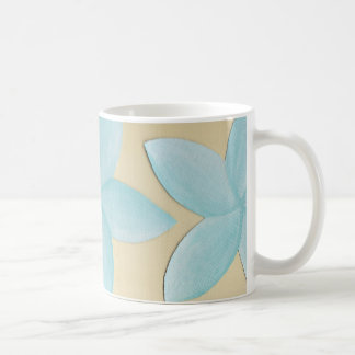 Aqua Frangipani Mug