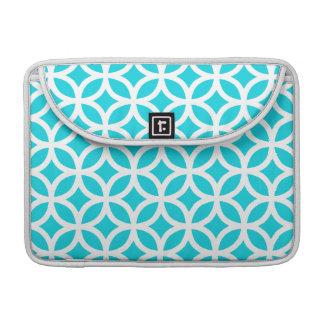 Aqua Geometric Sleeve For MacBook Pro