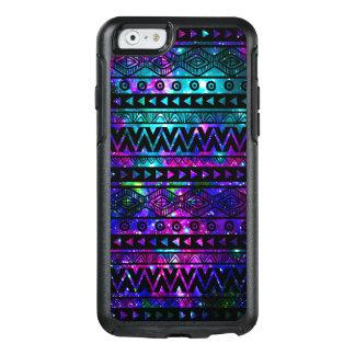 Aqua Glitter Black Zebra OtterBox iPhone 6/6s Case